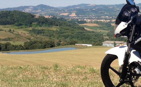 Anche i motociclisti hanno un loro patrono: San Colombano!