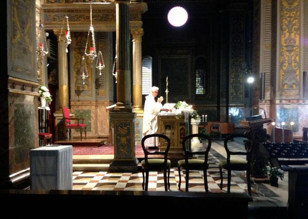 Santa Messa al Santuario del Piratello di Imola - santa Marta 29 Luglio 2013