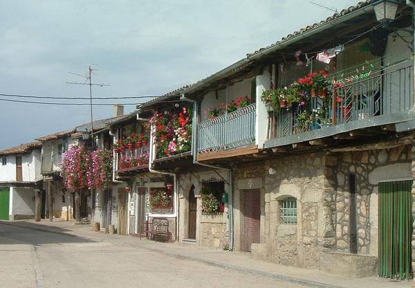 Calzada de Bejar,  lungo la Via de la Plata. Anche la povertà può essere rivestita di grazia ...