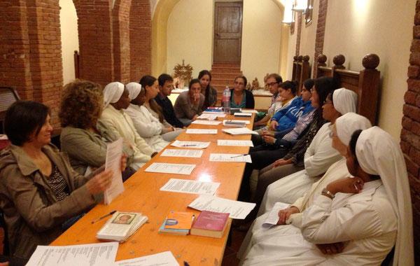 23 Settembre 2013 bella riunione generale dei catechisti