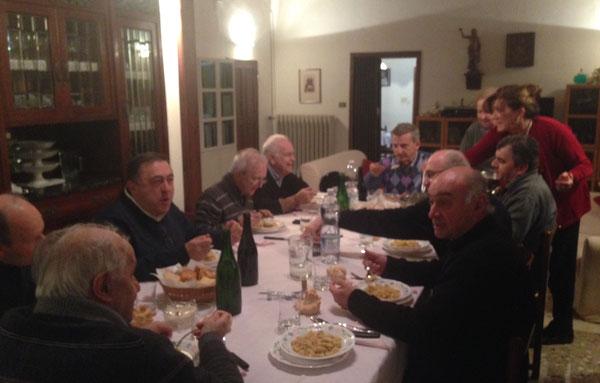 Cena di Classe fra sacerdoti - 8 Novembre 2016 - un compito importante ci aspetta