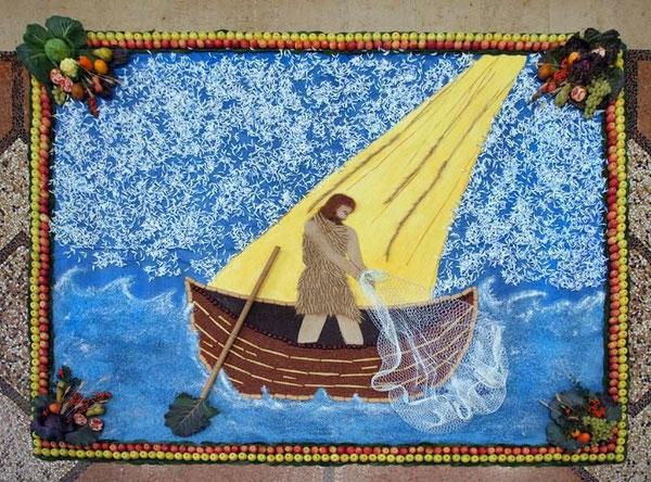 14.NOVEMBRE 2010 Festa del ringraziamento-Il disegno rappresenta il tema della vocazione (Anno straordinario di preghiera per le vocazioni sacerdotali)
