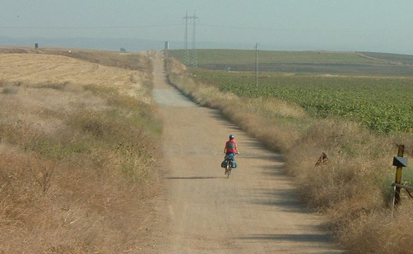 L'inizio della Via de la Plata, da Siviglia a Guillema,  è semplice e lineare. Così il nostro cammino di apostolato ...