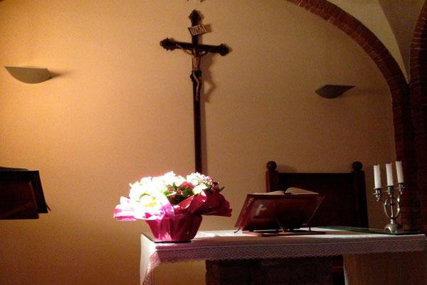 Papa Francesco fa ogni giorno un'ora di adorazione dalle 19 alle 20.