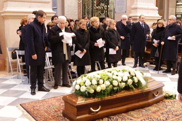 funerali di Marco Masini in Duomo