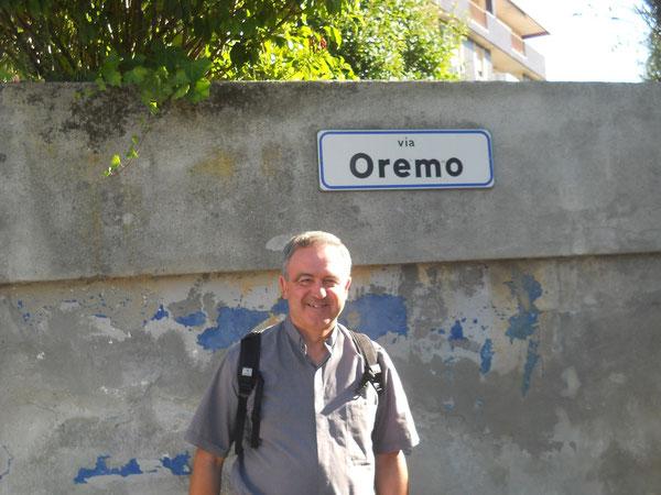 Don Remo Resca. Foto di Valeria Ballestri fatta a Pollone - Biella