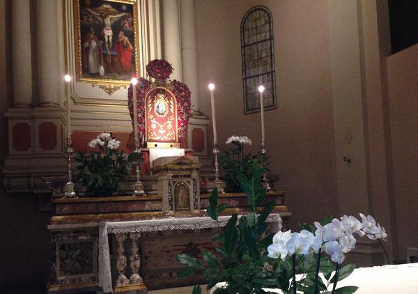 La Madonna della Provvidenza nella Chiesa di Calcara - Settembre 2018