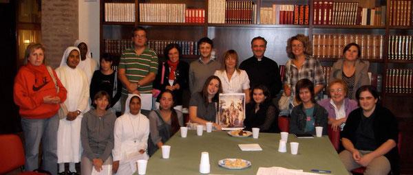 Catechisti Piumazzo: manca Alice, Valentina 1e2, Alessio, Giuseppe, M. Luisa, Sr Emma e Riccarda, Lamberto