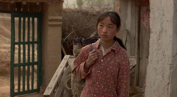 """La giovanissima maestrina, protagonista del film """"non uno di meno"""" ..."""