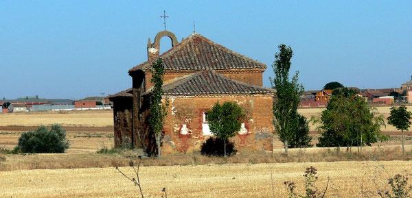 """Ermita di Perales, fra Shaagun e El Burgo Ranero, luogo della """"prova"""" e del """"voto"""" nel mio Cammino di Santiago"""