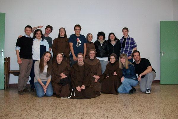 Sabato 8.maggio l'incontro dei Giovani dell'Oratorio con le Sorelle di San Francesco