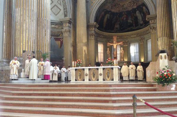 Bologna 22 ottobre 2015 Concelebrazione per la Dedicazione della Cattedrale