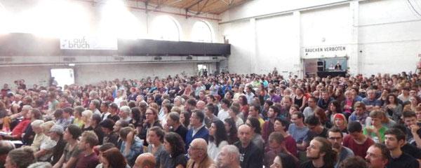 'Aufbruch' -  initiativet i Wien, juni 2016