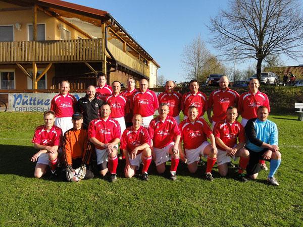 Unsere AH Mannschaft 2011 - Zum vergrößern Bild anklicken