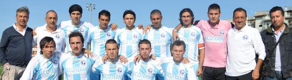 Nella foto la formazione della Pescara Nord che nella stagione 2010/11 conquistò la prima vittoria in 1^ Categoria