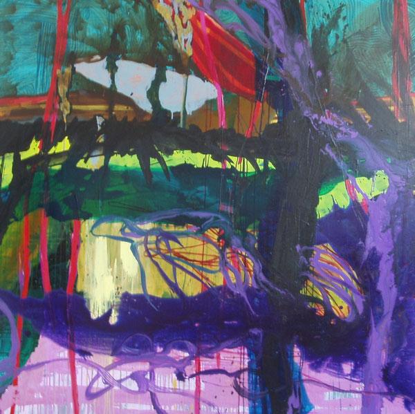 Marcel et Sidonie Landscape 160 x 160cm