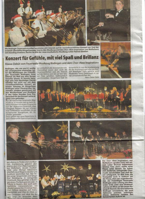 """""""Neue Wochenpost für Oberhessen"""" vom 3.12.2008"""