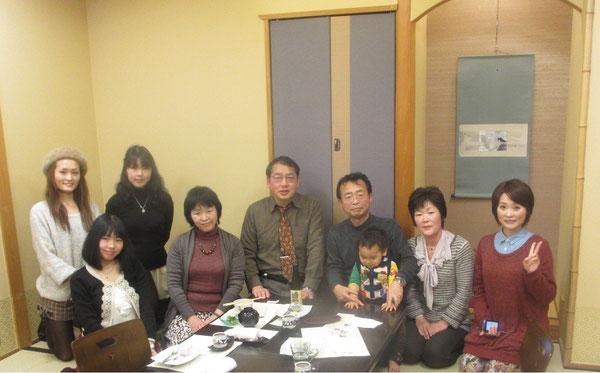 梅の花 国分寺店にて(2012.12.8)