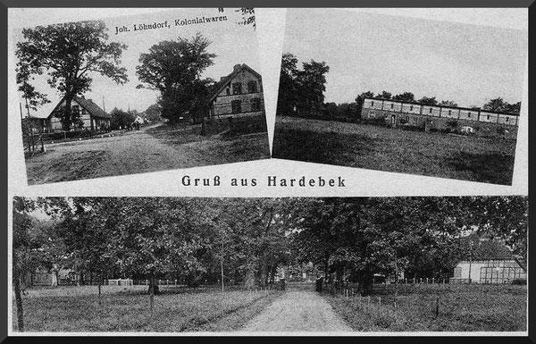 Ansichtskarte Hardebek