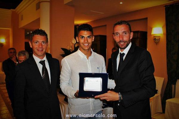Giovanni Reina con Gianluca Rocchi e Paolo Mazzoleni
