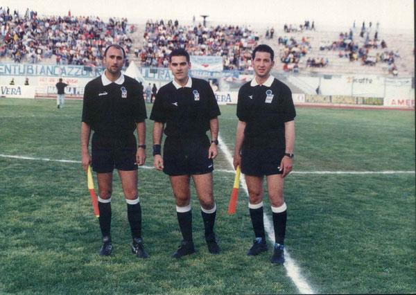 MASSIMO D'AGUANNO, assistenti DE BARTOLI e BUFFA