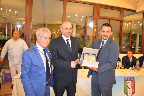 Biagio Girlando, Vito Buffa e Giuseppe Morsello