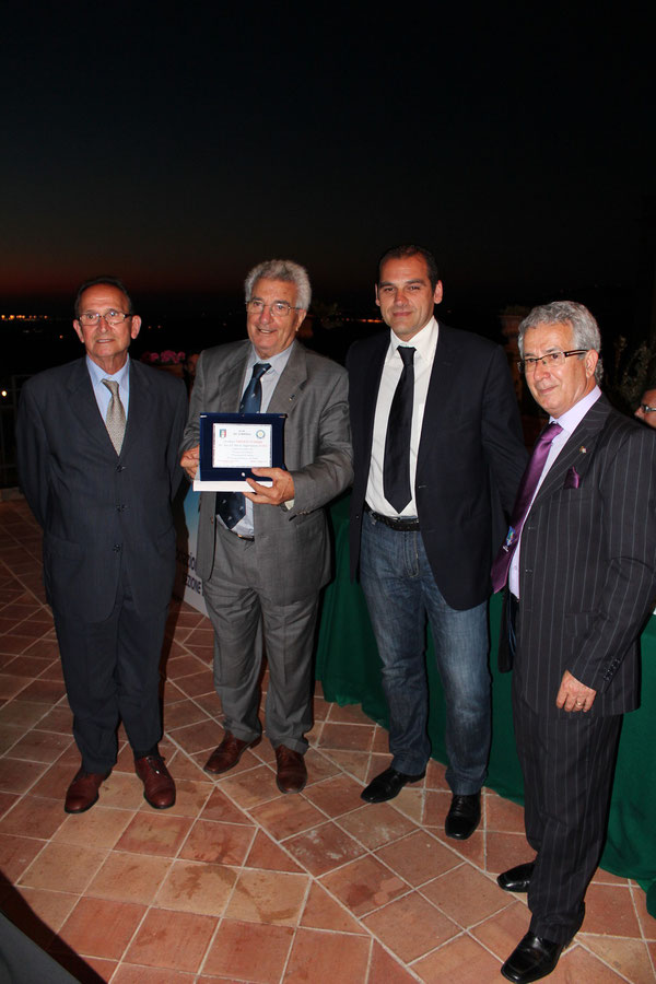 Pino Pavia, Pino Cascoschi, Massimo D'Aguanno e Biagio Girlando