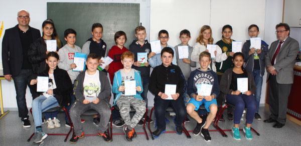 Teilnehmer der 6. Klassen