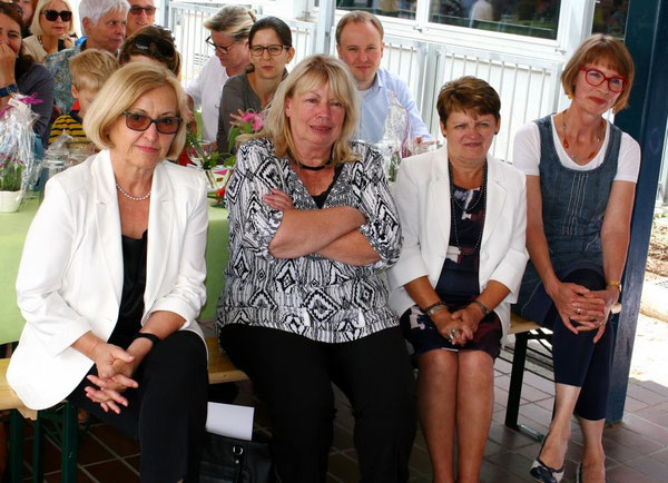V.l.n.r.: Sonja Schalck, Marika Greslon, Elli Michelbach und Marianne Ochsenreither