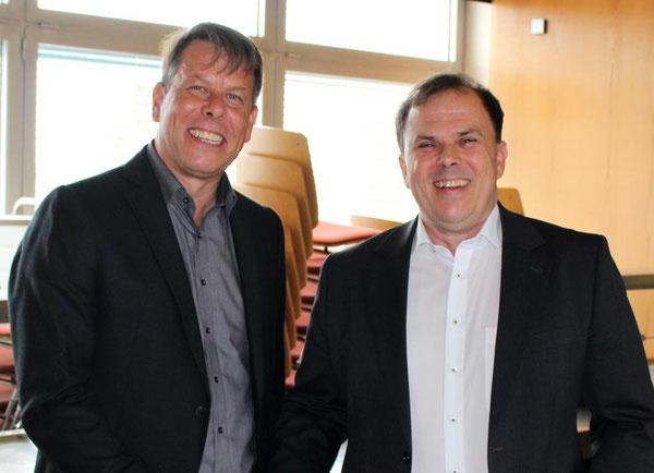 Herr Engel und Herr Bommer