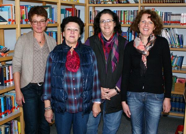 v.l.n.r.: Frau Burg, Frau Münzing, Frau Meier und Frau Schneider