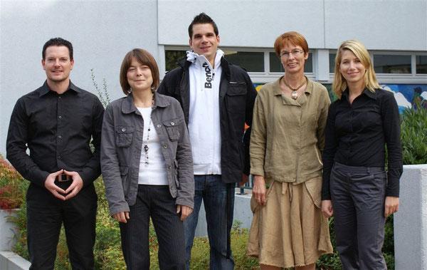 v.l.n.r.: Marco Rieder, Marcelle Detzel, Daniel Jacob, Marianne Ochsenreither und Daniela Micek