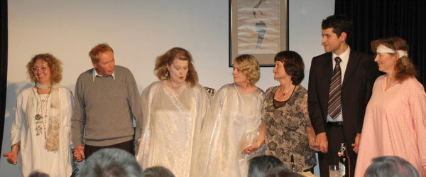 "Premiere of ""Blithe Spirit"", April 14, 2012"
