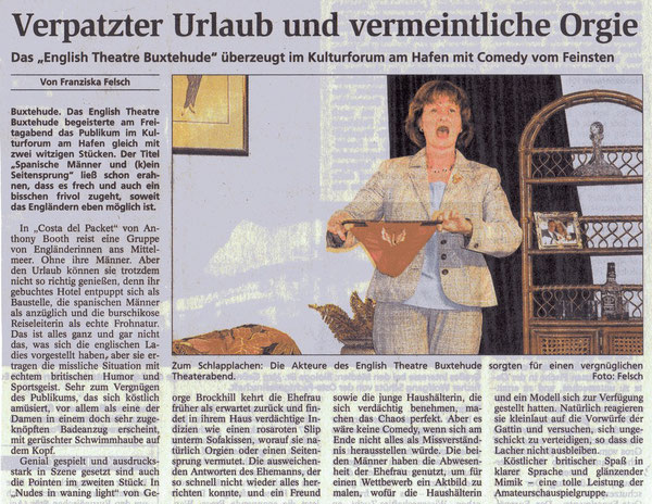 Buxtehuder Tageblatt, 20.04.2009