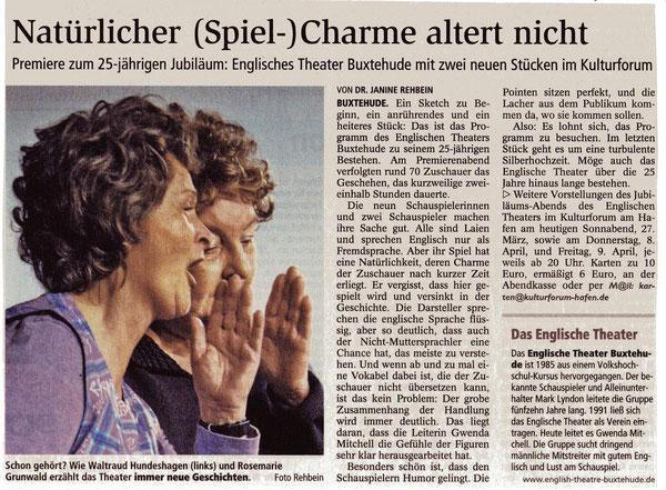 Buxtehuder Tageblatt, March 2010