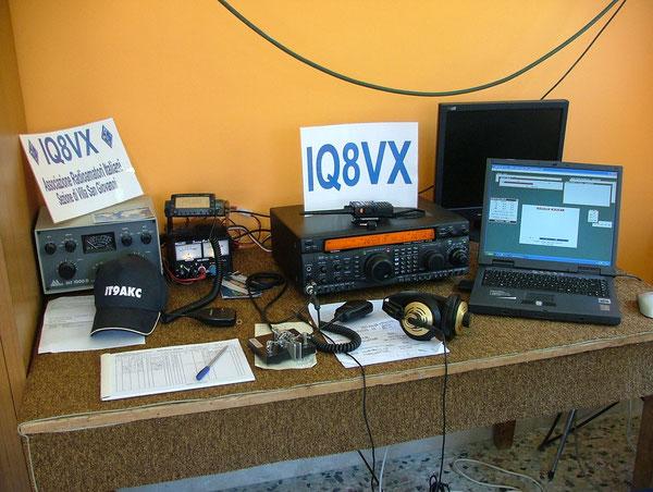 Stazione IQ8VX   1