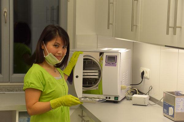 Desinfektion und Sterilisation