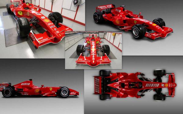 F1 FERRARI 2007