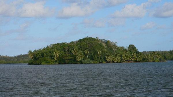 L'île des forbans au sud-est de l'île Madame , lorsque les français sont arrivés en 1821 l'île des Cayes devenu l'île Madame rn l'honneur de la fille du roi Louis XVIII était couverte de végétation