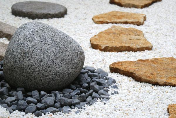 R alisation de jardins japonais paysagiste 92 75 77 78 for Galet jardin japonais