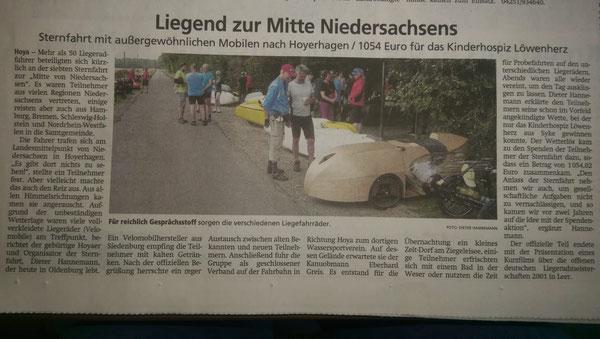Kreiszeitung am 23.08.2019