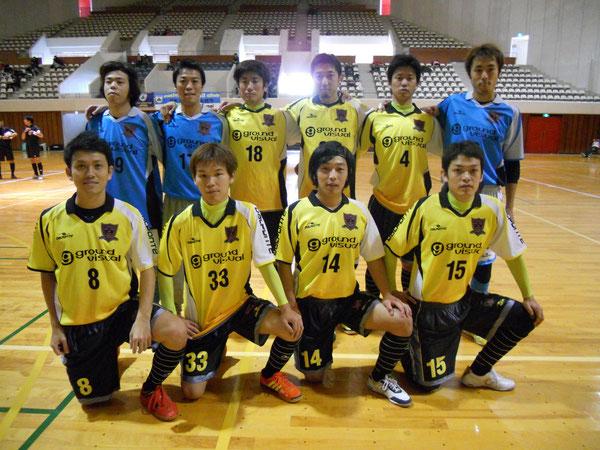 全日本フットサル選手権二次予選突破(2012/11/10)