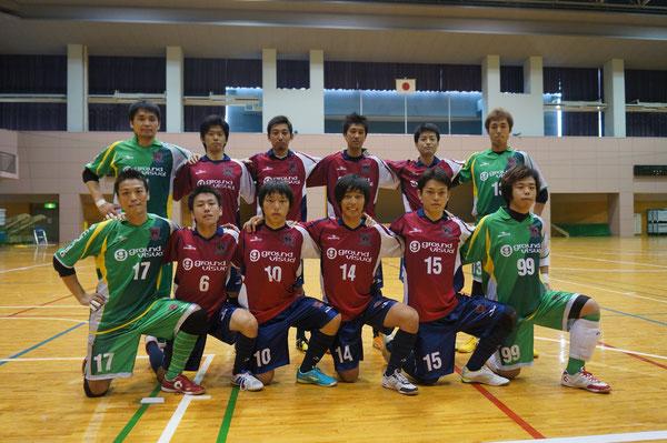 全日本フットサル選手権一次予選突破(2012/9/16)