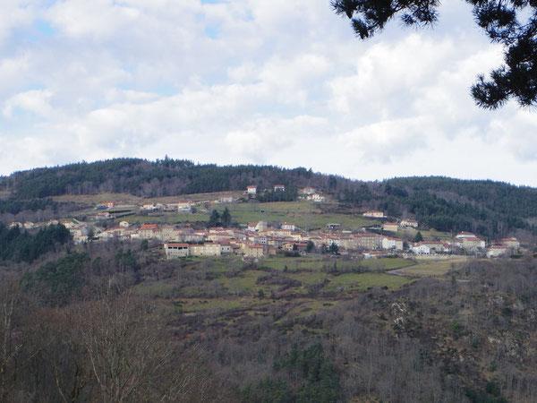 Vue générale du centre bourg