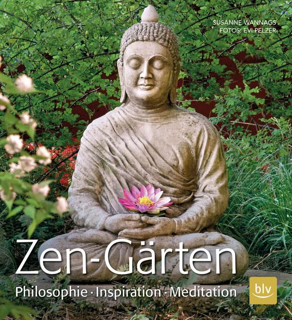 """Gartenbuch-Empfehlung: """" Zen-Gärten - Philosophie Inspiration Meditation """" - neu erschienen im blv-Verlag. Bildnachweis: blv-Verlag"""