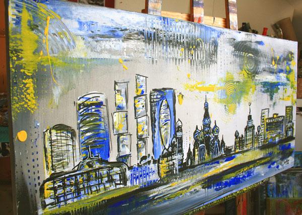 Bildausschnitt - Moskau Skyline