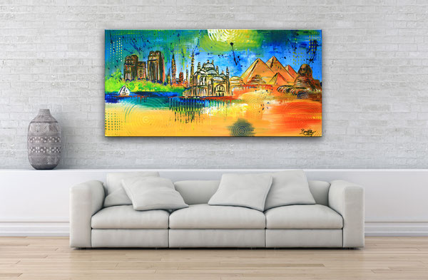 Wohnbeispiel - Kairo Skyline