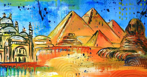 Bildausschnitt - Kairo Skyline