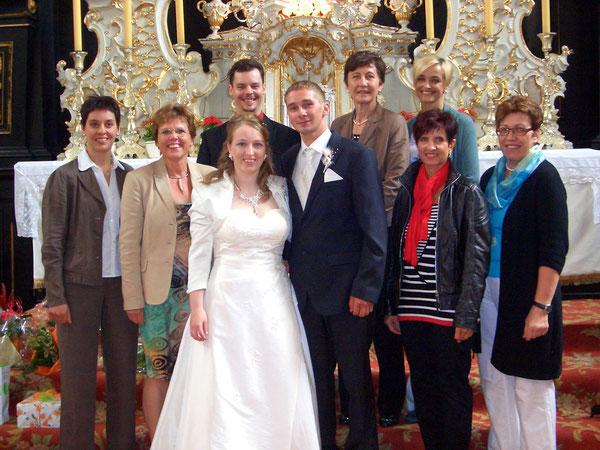 SchonSoNetten: Willi und Dominik Palmetshofer, Waltraud Wittberger, Monika Zinterhof, Brigitte Buchberger, Christa Hochgatterer