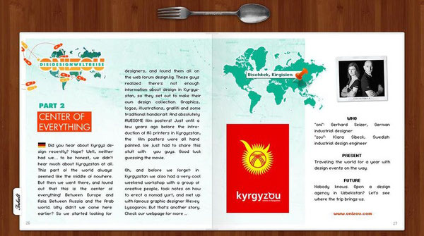 onizou idea nomads - design kyrgyzstan spoonfork - gerhard seizer & klara sibeck